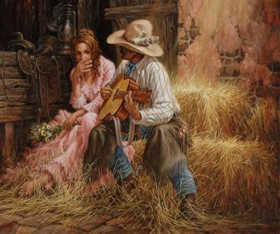 Weekend repos en écoutant de bons morceaux country !! un bien fou ....