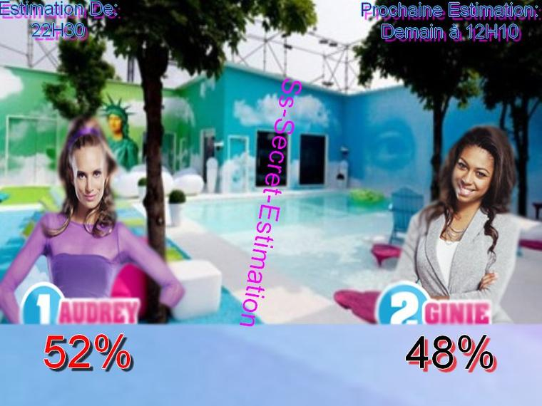 Nomination 6 - Estimation des votes [~AUDREY/GINIE~]