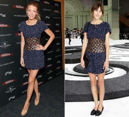 Les stars portent les mêmes tenues 9 : Blake Lively et Alexa Chung !