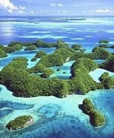 Les îles paradisiaques !