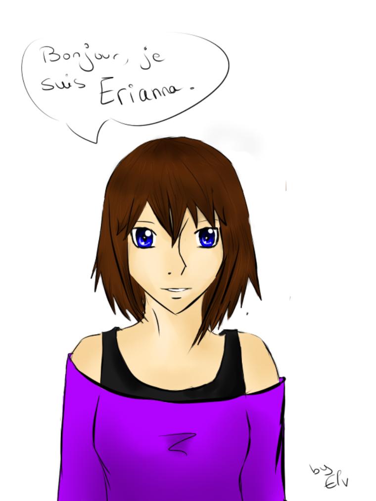 H.S ==> Erianna, son arrivée sur Terre