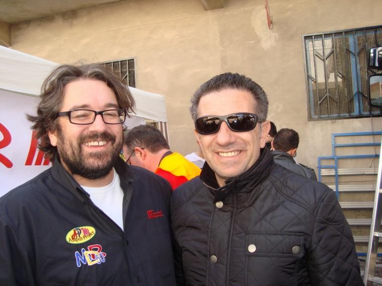 Foto avec Jorge Martinez ASPAR