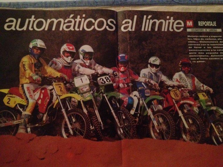 Mob de course 1993 Mob Cross Espagne