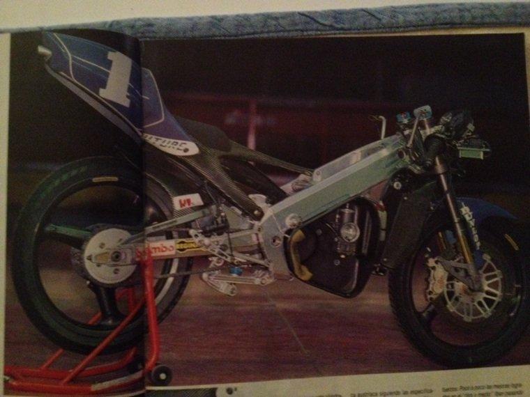 l'époque où les motos compet étaient réels