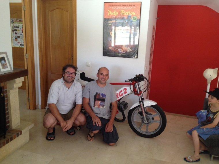 Yanr81 de visite en Espagne