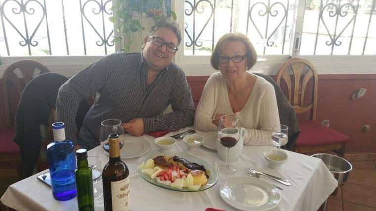celebration d'anniversaire de ma mere et moi aujourd'hui
