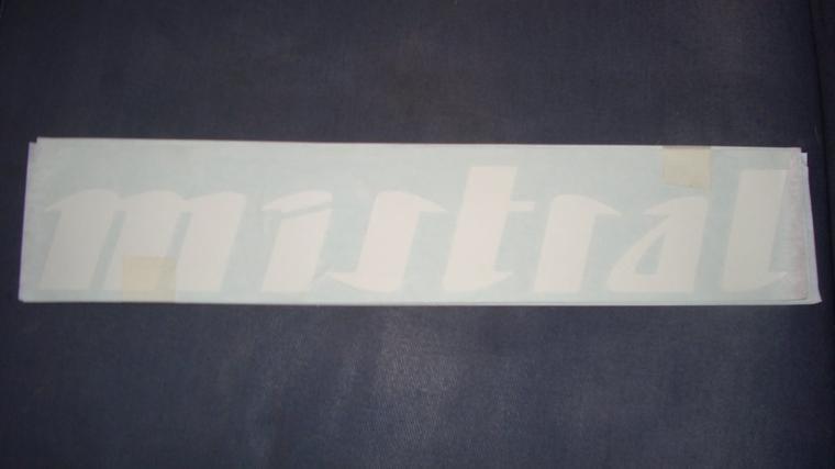 Premiere autocollants recue  Mistral/Omega/Ninja