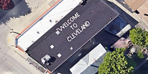 """WELCOME TO CLEVELAND""......OU PAS"