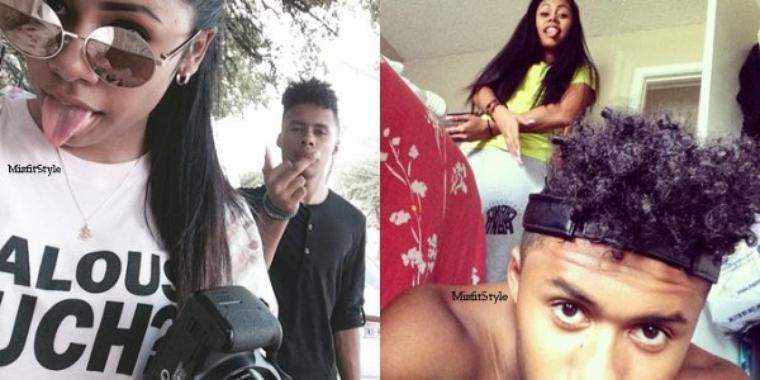 #Selfie brother & sister.