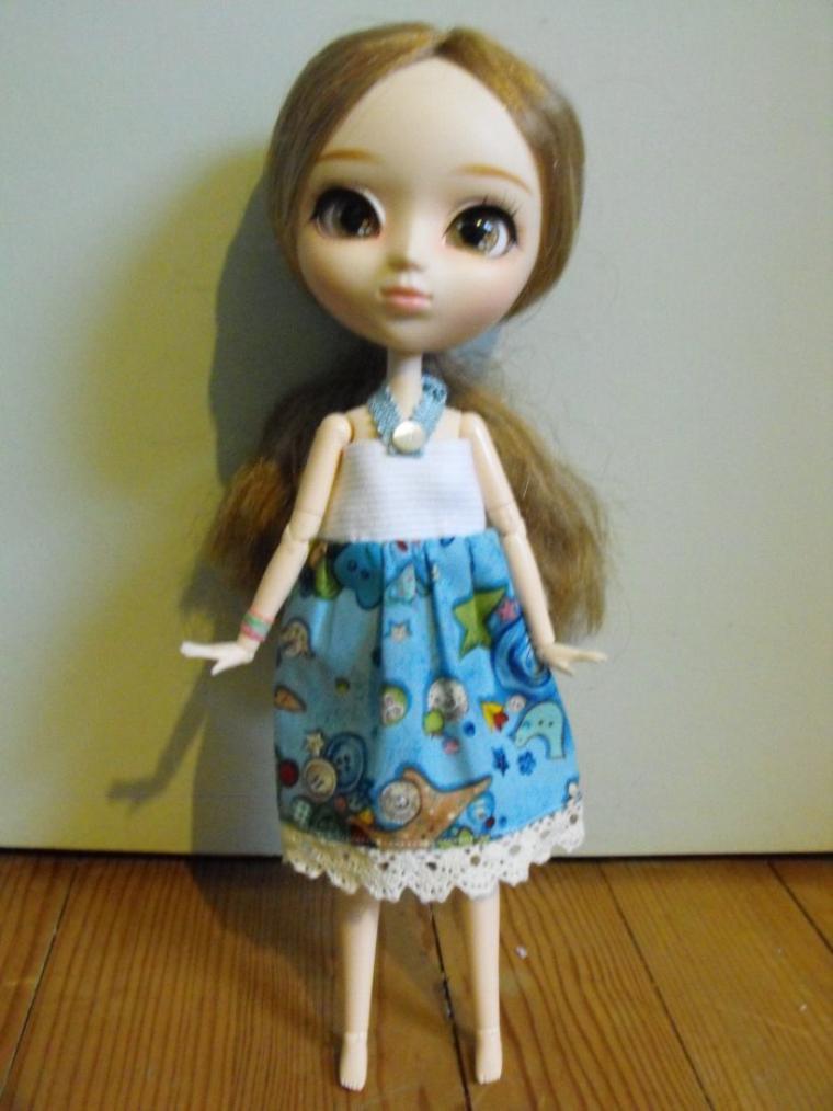 Robe Style Jeu d'Enfant