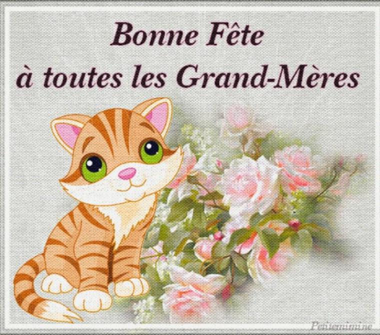 Bonne fête à toutes les grands mères ! Et également je la souhaite à ma grand mère ♥ et pour celles qui sont déjà parties au ciel :( je vous souhaite courage et force à vous !