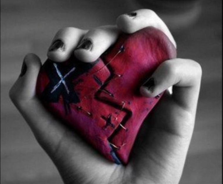 Avant de blesser un coeur, regarde si tu n'es pas à l'intérieur..