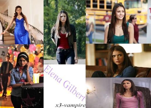 Nina Dobrev alias Elena Gilbert & Katherine Pierce (Petrova)