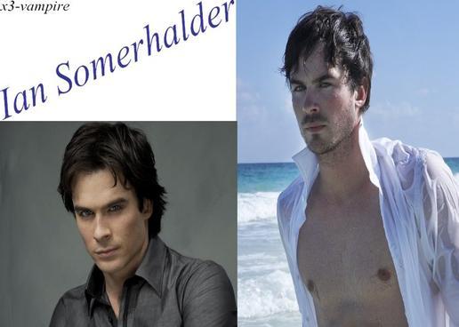 Ian Somerhalder alias Damon Salvatore