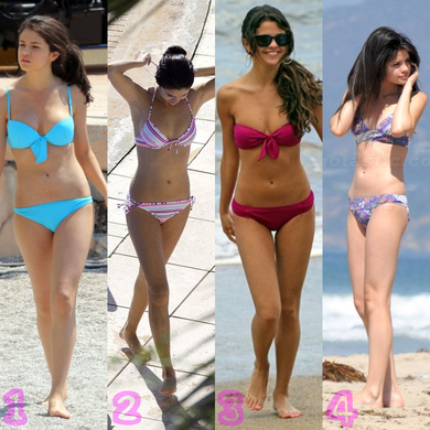 Quelle bikini de Selena préférez vous ?