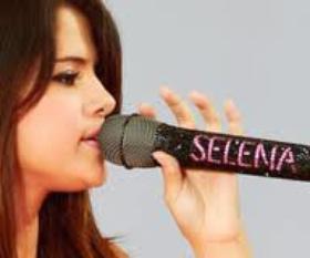 Micro de Selena Gomez