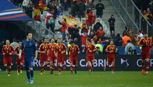 France 0-1 Espagne