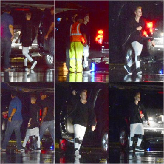 LE 05/03 - Justin est arrivé à Miami et c'est rendu dans un studio d'enregistrement !