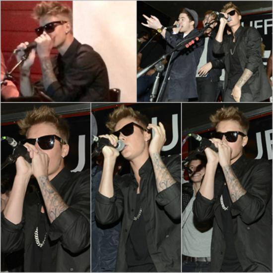 LE 08/03 - Justin est aller au Xtreme Lazer Tag au Texas !!