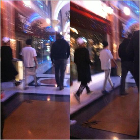 LE 11/03 - Justin a été vu avec Scooter au Texas !!