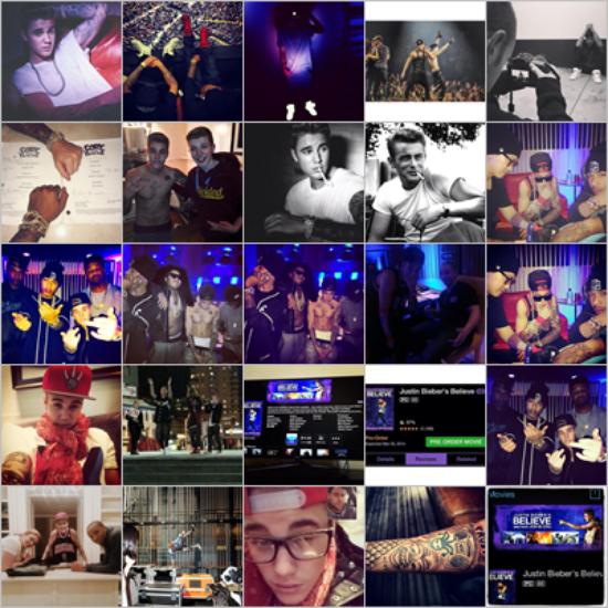 Voici des nouvelles photos de Justin quand il était avec la famille Beadles et des ami(e)s au restaurant à Atlanta, il y a déjà plusieurs semaines !!
