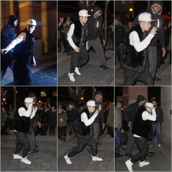 LE 25/03 - Justin a pris des photos avec des fans à Toronto !!