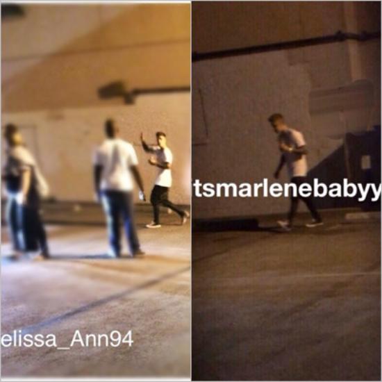 LE 14/06 - Justin a été vu par des fans dans Los Angeles !!