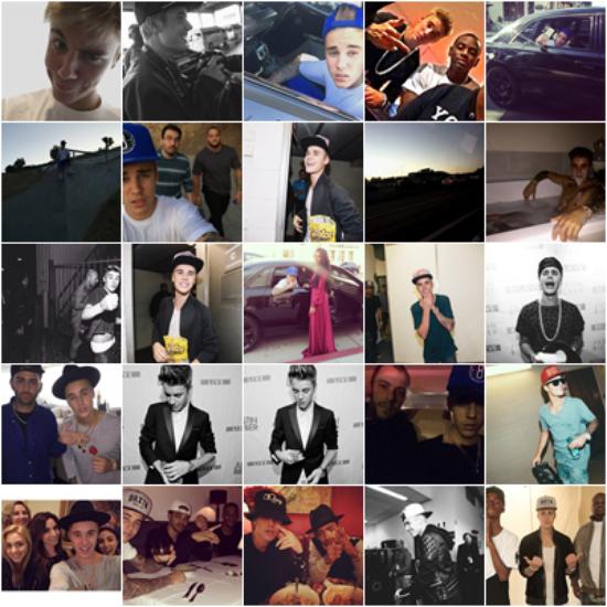 LE 15/10 - Justin était sur le tournage du clip vidéo de Poo Bear et Tyga à Los Angeles!