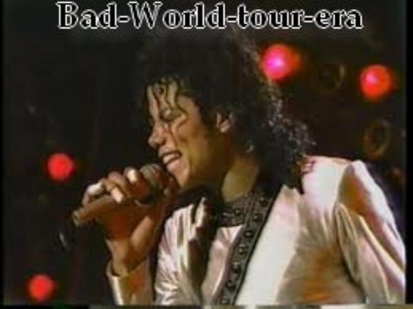 Le 23/02/1988 au 6//05/1988: Tournée Américaine(Partie I)