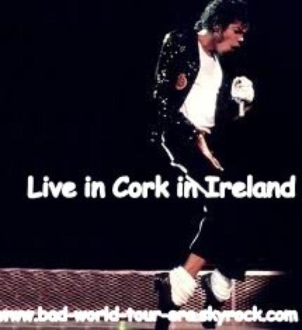 Le 30/07/1988 au 31/07/1988: Michael se rend à Cork (Irlande)