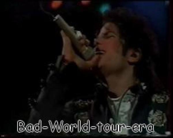 Le 23/08/1988: Michael se rend à Werchter