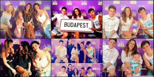 29&30: Martina à beaucoup était présente sur les réseau sociaux,il y a qu'elle que jour , elle à été présente au M&G à Budabest en Hongrie.