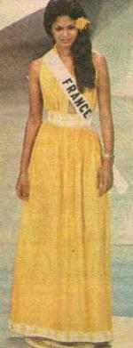 Monique Uldaric - Miss France 1976