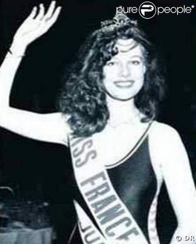 Patricia Barzyk - Miss France 1980