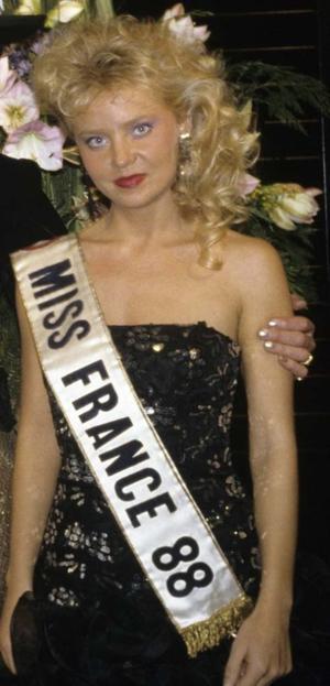 Sylvie Bertin - Miss France 1988