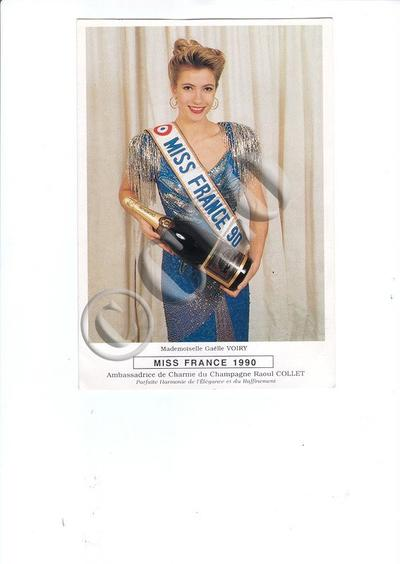 Gaêlle Voiry - Miss France 1990