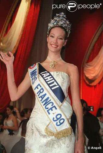 Mareva Galanter - Miss France 1999