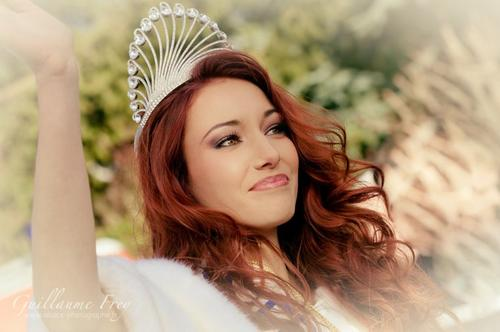 Delphine Wespiser - Miss France 2012