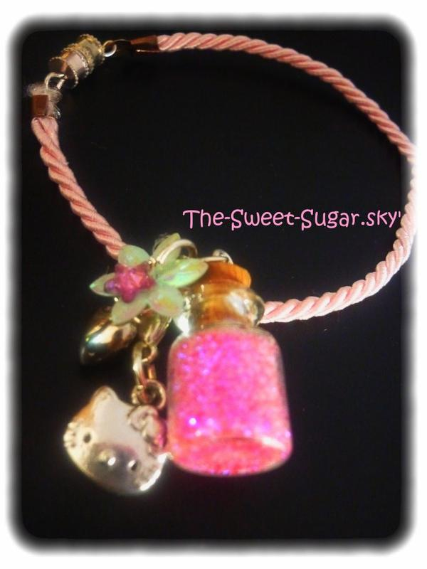 Bracelet fiole H.K *