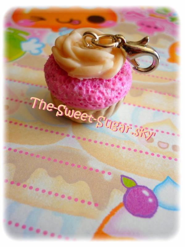Pendentif cupcake *