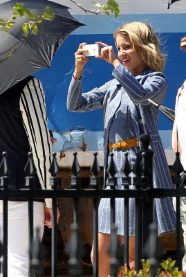 09 Mai - Sur le set de Glee !