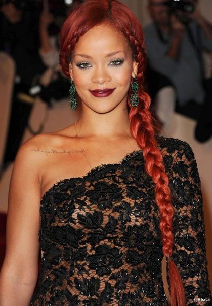 La maxi-tresse de Rihanna