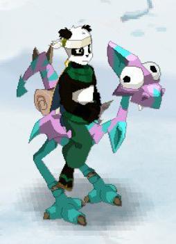 new couleur de panda