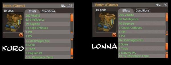 Bottes Otomai Pour Lonna et Kuro
