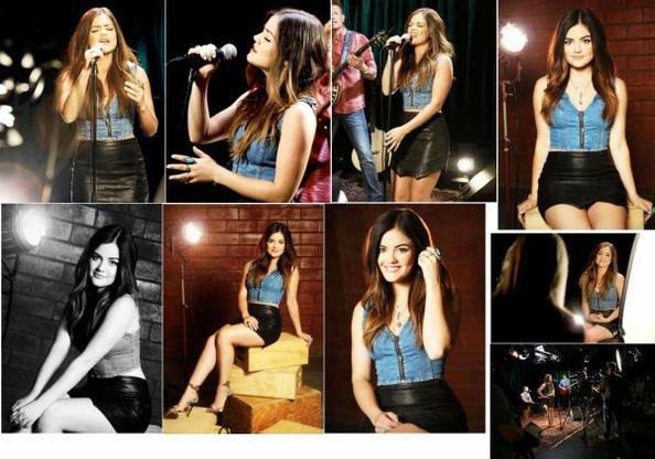 Lucy Hale Yahoo Music Studio Performance 2014