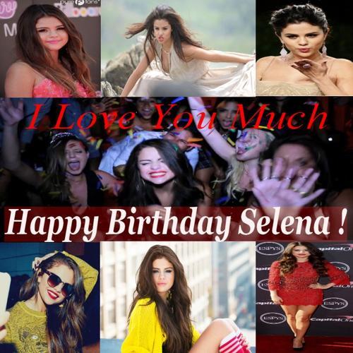 Aujourd'hui, c'est l'anniversaire de notre magnifique Selena Gomez ! ♥