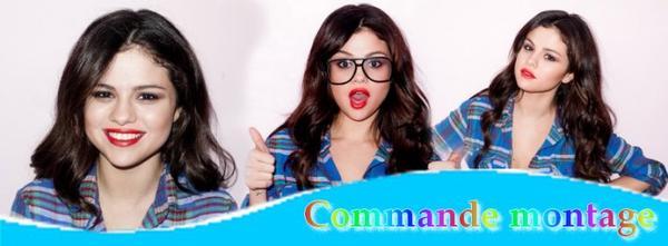 Commande de montage sur Selena !