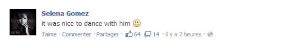 Jelena Is Back ! Texte poster par Sel' sur les réseaux sociaux + Vidéo des deux tourtereaux ! Alors vous êtes content que le couple Jelena est de retour ? :)