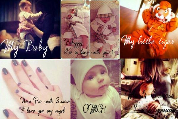 Quelques photos de Selena et Gracie poster sur les comptes privés de Selena. N'est-elle pas mignonne ? :)