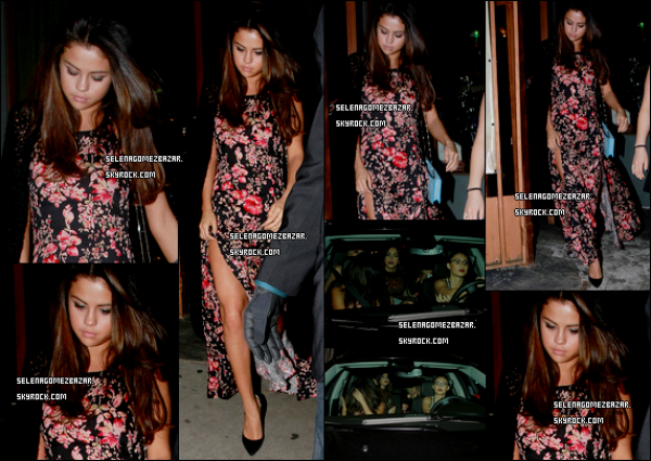 *13/03/14. Selena a été vue quittant le salon Rockwell, à Los Angeles. + 2 nouveaux shoot pour la collection Printemps 2014 pour Adidas Neo. Top ou Flop ?